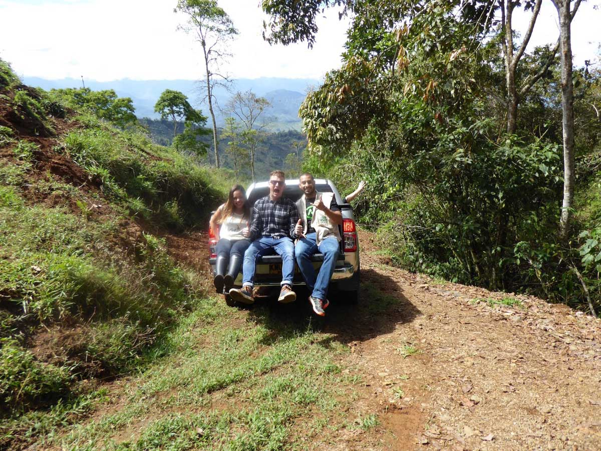 Road tripping in the coffee lands above Jardin