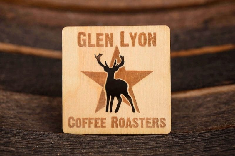 Glen Lyon Coffee coaster