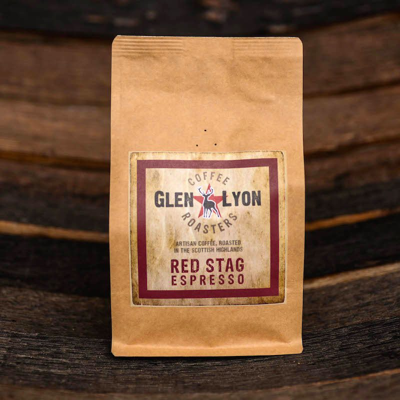 Glen Lyon Coffee Red Stag Espresso